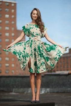 Ideias de Costura - Vestidos para a Primavera ~ LOJA SINGER PORTO