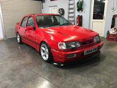 Ford Rs, Car Ford, Us Cars, Sport Cars, Classic Cars British, Ford Sierra, Old Fords, Ford Escort, Chevrolet Malibu
