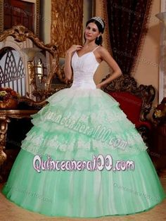 Cool mint and white quinceanera dresses 2017-2018 Check more at http://bestclotheshop.com/dresses-review/mint-and-white-quinceanera-dresses-2017-2018/