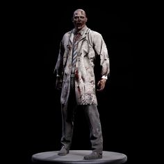 zombie doctor Model available on Turbo Squid, the world's leading provider of digital models for visualization, films, television, and games. 3d Max, Zombies, Statue, Model, Art, Art Background, Scale Model, Kunst