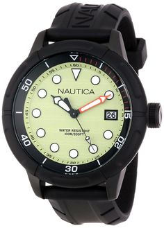 Nautica Unisex N17618G NMX 601 Classic Analog with Enamel Bezel Watch >>> See this great product.