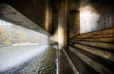 Awaji, Water Temple by Tadao Ando Water Architecture, Sacred Architecture, Futuristic Architecture, Interior Architecture, Tadao Ando, Awaji Island, Minimal House Design, Water Temple, Spa Design