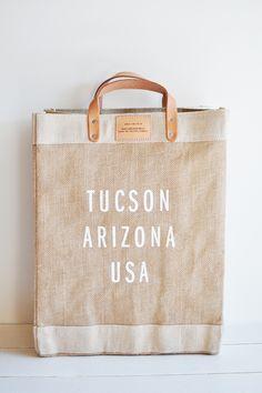 Apolis + Fine Life Co Tucson Market Bag