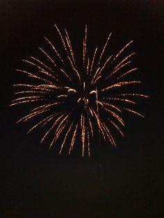 Kempton fair firework 3