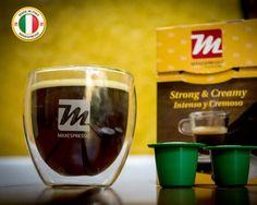 🇺🇸 With Maxespresso Gourmet Coffee, drinking a cup of strong and creamy coffee is an experience 🇪🇸 Con Maxespresso Gourmet Coffee, tomar una taza de un fuerte y cremoso café es toda una experiencia