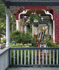 Oak Bluffs on Martha's Vineyard, Massachusetts
