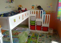 Habitación de Bichito y Pequeñín (y en el futuro de Pizquita también)   Os presento a... ¡Bichito y Pequeñín! Y su nueva habitación.   U...