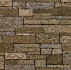 Bristol Taupe Brick Texture, wallpaper Textures, Techniques & Finishes