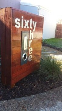 how cool is this address thingy? Warner - rustic - Landscape - Brisbane - EcoBuilt Landscaping