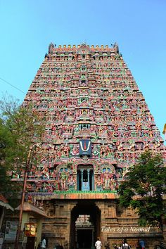 An hour's drive away from Thanjavur lies the temple town of Kumbakonam, believed to be where the pot (Kumbham) containing nectar of . Temple India, Hindu Temple, Indian Temple Architecture, Ancient Architecture, Nature Desktop Wallpaper, Durga Images, Hindu Culture, Hindu Deities, India Travel