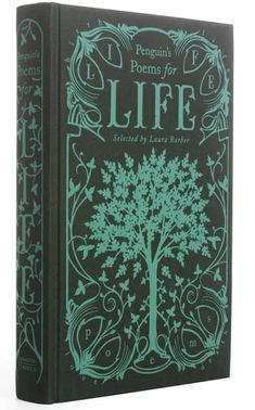 Penguin Poems for Life - Clothbound hardcover penguin classics using an art nouveau border in a decorative style