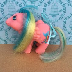 A personal favorite from my Etsy shop https://www.etsy.com/listing/468107039/vintage-g1-mlp-my-little-pony-brightbow