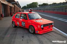 #Nothelle Mk1 Golf at #Brands Hatch Track Attack... what an awesome car! #Volkswagen