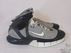 c466b6e8d71a4 Vtg OG 2005 Nike Air Zoom Kobe Huarache 2k5 Tony Parker Spurs sz 11.5 XI  Grey  Nike  AthleticSneakers  tcpkickz