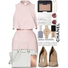 A fashion look from October 2015 by inesdinis6 featuring Yves Saint Laurent, Michael Kors, Rosa de la Cruz, Juicy Couture, Christian Dior, NARS Cosmetics, Essie...