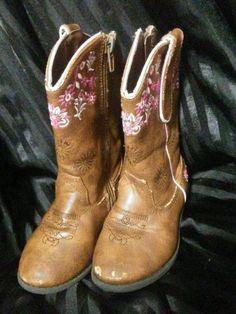 e81615f62dc Paris Blues Otina Cowboy Boots girls 8  ParisBlues  Boots Girl Cowboy Boots
