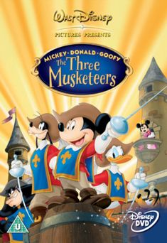 67073ba33e Hasil gambar untuk mickey mouse the three musketeers Disney Animation
