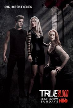 True Blood Poster of Jason, Pam, and Jessica.