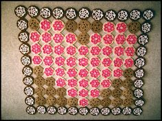 Heart Cookie Blanket... Twinkie Chan