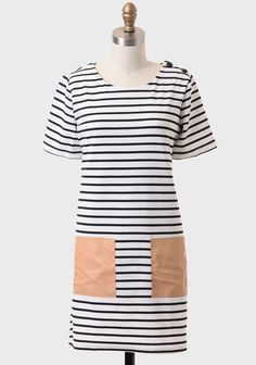 Tokyo Summer Striped Tunic Dress  ESSENTIAL must get, basic for layering and making outfits