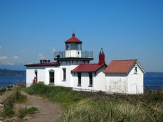 West Point Lighthouse, Discovery Park, Seattle