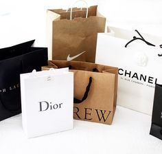 pinterest: @lilyosm | bags shopping shop purchases dior chanel j crew nike luxe luxury