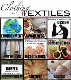 A great website full of resources and ideas for the Clothing & Textiles Enthusiast, Teacher, or the Curious!