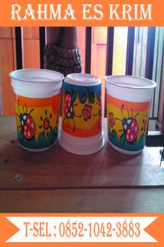 Cup Es Krim Plastik Ukuran 100ml murah