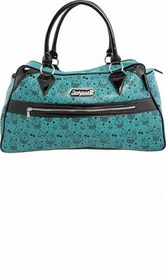 Deadly Deville Turquoise Purse