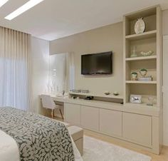 Design Of Bedroom Cabinet . Design Of Bedroom Cabinet . A Modern Tailored Home by Wendy Labrum Tv In Bedroom, Bedroom Dressers, Modern Bedroom, Bedroom Furniture, Master Bedroom, Bedroom Decor, Apartment Design, Apartment Styles, New Room
