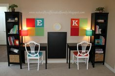 Homeschool Organization Ideas | Cute, SIMPLE Homeschool/Homework Station