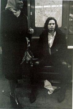 Jim Morrison New York City 1967: Photo by Paul Ferrara