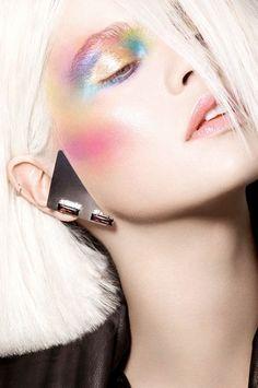 Halloween Makeup Ideas: Pastel Princess.
