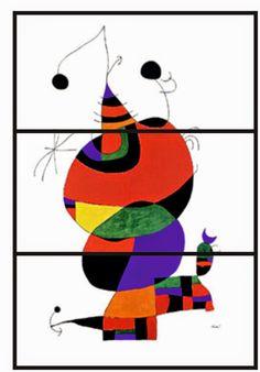 Pintores famosos: Joan Miró. Vida y obras.