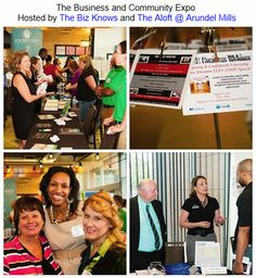 The Business and Community Expo Hosted by The Biz Knows and The Aloft @ Arundel Mills. The networking Advocate