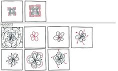 step by step instructions of zentangle patterns   Step-by-step pattern instructions that make up the majority of the ...