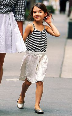 Suri Cruise: I wish the paparazzi would leave this kid alone and just let her be a kid.