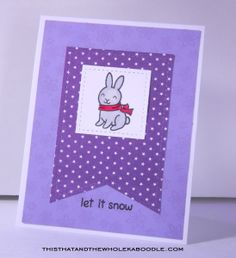 http://thisthatandthewholekaboodle.com/let-it-snow/ #lawn fawn