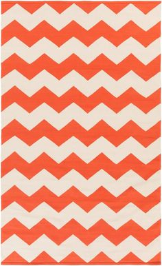 Rosenberry Rooms has everything imaginable for your child's room! Share the news and get $20 Off  your purchase! (*Minimum purchase required.) Collins Rug in Coral and White