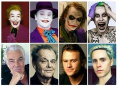 The different generations of Jokers..