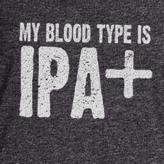 My Blood Type is IPA+ Flowy Tank