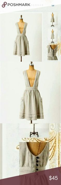 2fe2cfaac4 Meadow Rue anthro linen romper dress sz 2 NWT Beautiful romper dress from  Meadow Rue.