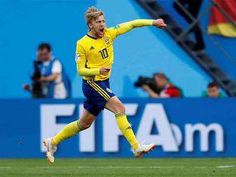 Sweden beat Switzerland 1-0 on 03/07/2018 to enter Quarter Finals. Forsberg's fortuitous winner helps Sweden shut out Swiss | Football News - Times of India
