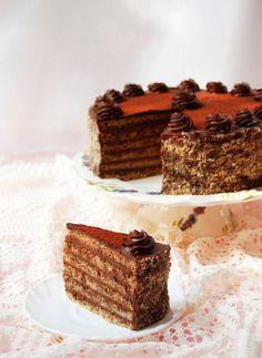Stefania cake is gluten-free and sugar Sin Gluten, Gluten Free, Diabetic Recipes, Diet Recipes, Healthy Recipes, Hungarian Recipes, Healthy Sweets, Food Art, Paleo