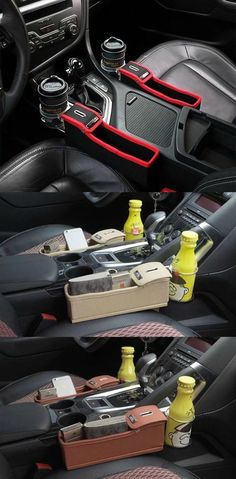 Multi-functional Seat Side Storage Box.