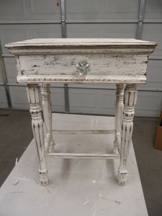 shabby style nightstand, french cottage nightstand, french country nightstand |