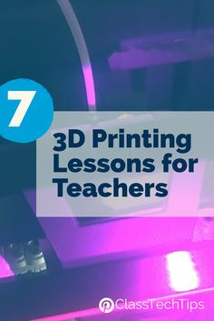 Love this! So many cool 3D printing lessons for teachers. If you're looking for inspiration Thingiverse is full of fantastic resources for educators including 3D printing lessons for a range of classrooms.