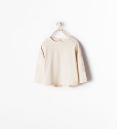 ZARA - KIDS - T-SHIRT WITH EMBROIDERED SLEEVES