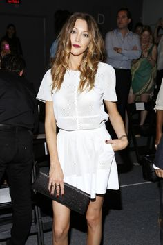 How amazing does Katie Cassidy look in a matching set from my #rachelzoe spring 2014 collection?