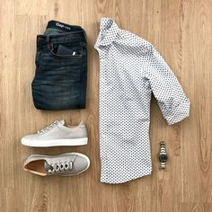 Camisa pra fora da Calça, como usar? Macho Moda - Blog de Moda Masculina: Camisa Social para fora da Calça, quando e como Usar? Roupa de Homem, Estilo Masculino, Moda para Homens, Camisa Masculina, Camisa Poá, Relógio com Pulseira de Aço